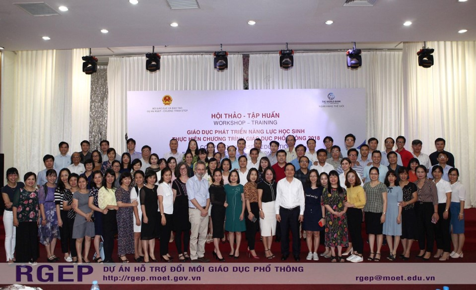 Vietnam Competency Based Education group photo