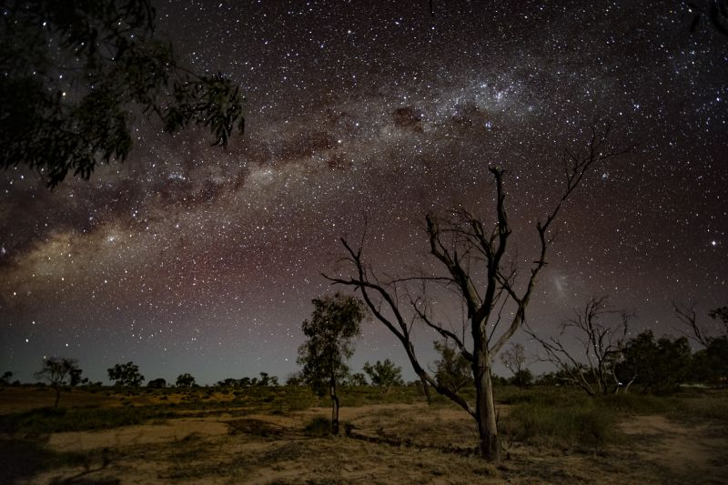 Outback Milky Way image