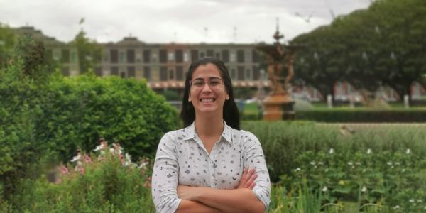 MGSE Student Ambassador, Alejandra Bogado Tervit