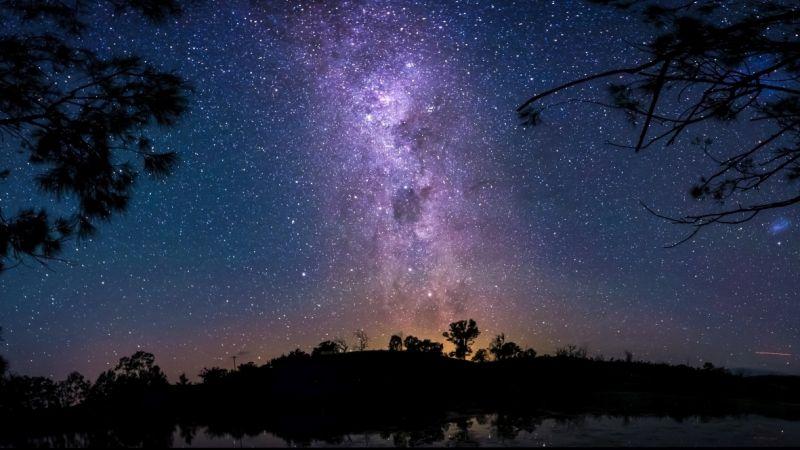Night sky in Australia